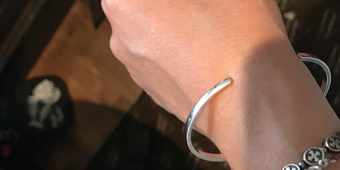 Silver All Day Bangle