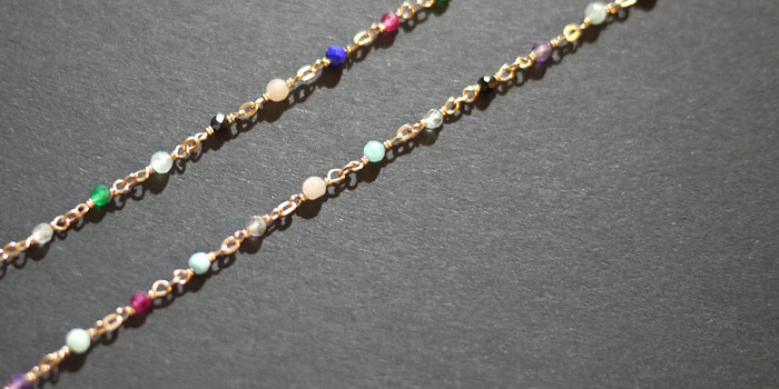 Various Gemstone Necklace