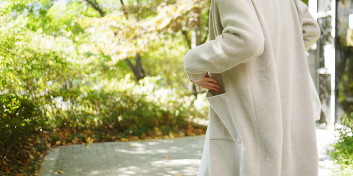 Neutral Long Cardigan